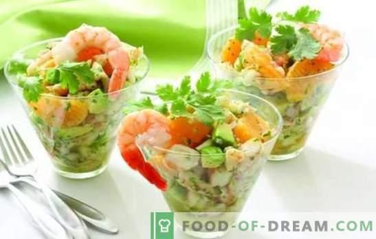 Lichte salades zonder mayonaise: smakelijk, bevredigend, nieuw. De beste recepten voor lichte salades zonder mayonaise met kaas, eieren, pitabrood, levertraan