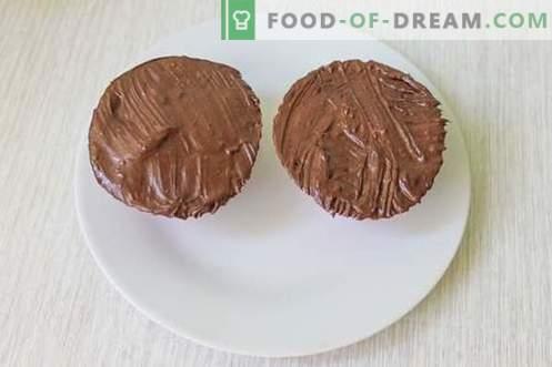 Geglaceerde chocoladerepen - een favoriet sierlijk van jongs af aan!