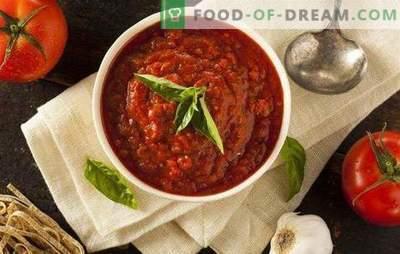Marinara-saus: recepten van echte zeilers. Geheimen en stap voor stap koken van de legendarische Italiaanse saus Marinara