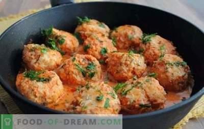 Luie koolrolletjes: een stapsgewijs recept voor een stevige maaltijd. Beschikbare stap-voor-stap recepten voor luie koolbroodjes met vlees van rund-, varkensvlees- en kalkoen