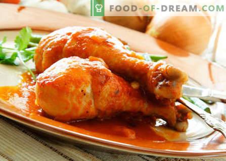 Kip met honing - de beste recepten. Hoe goed en smakelijk kip met honing koken