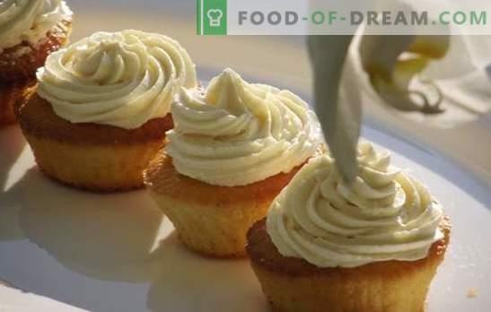 Choux wrongelroom - zoetigheden kunnen handig zijn! De beste recepten voor custard-wrongel en desserts bij hem
