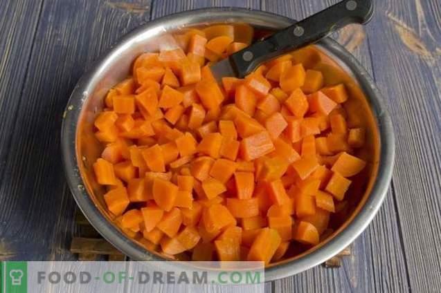 Confiture de carottes au gingembre et citron