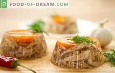 Filler of chicken (stap voor stap): de gasten zijn verrukt. Stap-voor-stap recepten van geleiproducten met groenten, bessen en champignons
