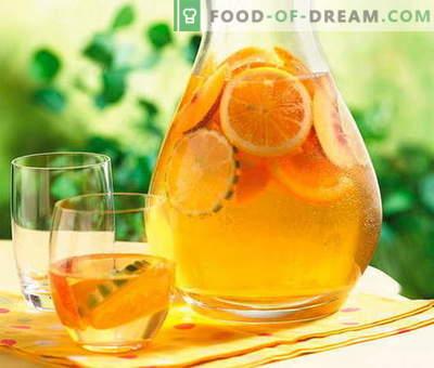 Compote van sinaasappelen - de beste recepten. Hoe goed en lekker compote van sinaasappelen.
