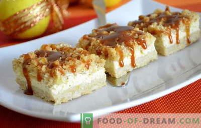 Cheesecake zonder kwark: nieuwe ideeën voor een populair dessert. Cheesecake-recepten zonder kwark met zure room, mascarpone, room, kaas