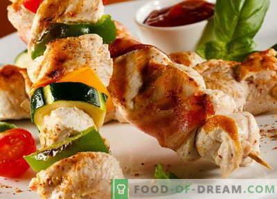 Varkensvlees kebab - de beste recepten. Hoe goed en smakelijk koken varkensvlees kebab.