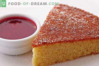 Mannik - 10 juiste recepten. Hoe goed en smakelijk koken mannick: alle geheimen van de weelderige taart