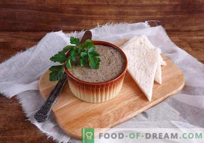 Pate voor de winter - de beste recepten. Hoe u op een juiste en heerlijke manier patates kunt bereiden voor de winter.