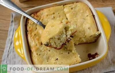 Pyragas žydintas grietine - puikus užkandis didelė kompanija! Žingsnis po žingsnio autoriaus nuotraukų receptas užpildyti pyragą su svogūnais ir kiaušiniais ant grietinės