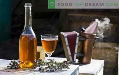 Recepten mede thuis. Mead thuis: belangrijke punten en nuances van de creatie van deze drank