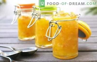 Meloen en appeljam is een ongewone combinatie van smaken! Bewezen recepten voor heerlijke meloenjam met appels, maanzaad, courgette