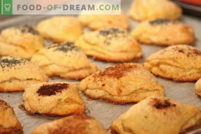 Kwarkkoekjes zijn de beste recepten. Hoe goed en smakelijk cookies koken van kwark.