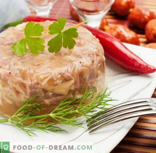 Filler of chicken - de beste recepten. Hoe goed en smakelijk gekookte kip koken.