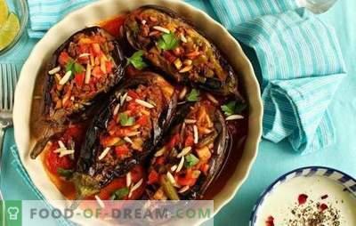 Aubergine in het Turks met gehakt - een favoriet van de Turkse keuken! Recepten, subtiliteiten en geheimen van het koken van sappige en ongelooflijk heerlijke Turkse aubergines met gehakt