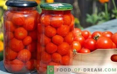 We oogsten zelfgemaakte tomaten voor de winter. De beste recepten voor het inblikken van huisgemaakte tomaten voor de winter