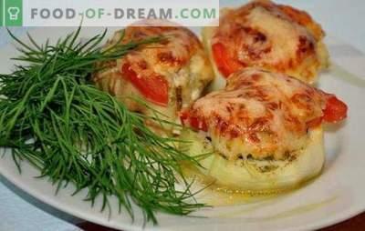 Courgette met gehakt en tomaten: gezond lekker! De beste vulling opties voor courgette met gehakt vlees en tomaten