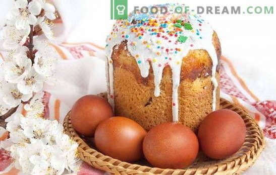 Kulich op kefir zonder gist: bereid ongezuurd gebak. Alternatief voor gistdeeg - Paascake op kefir zonder gist