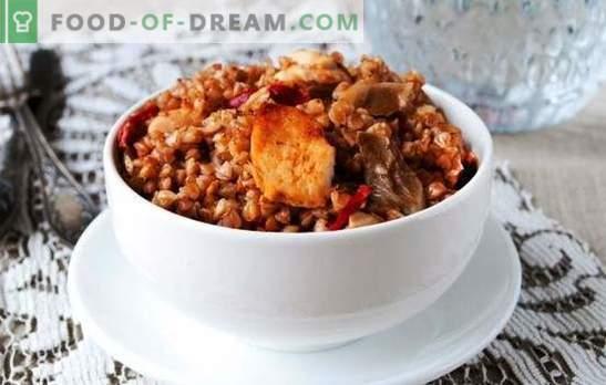 Boekweit met kip in een slow cooker is de beste manier om een heerlijke lunch te maken. Een selectie van recepten voor boekweit met kip in een multikoker