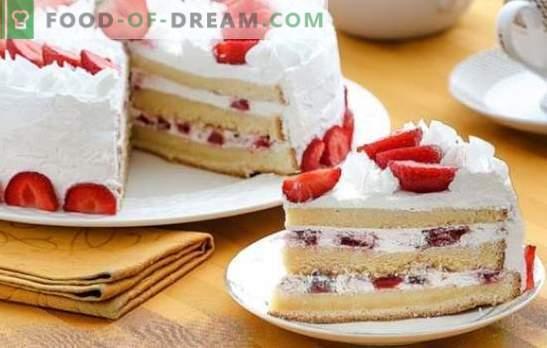Sponge Cake Cream: de beste recepten. Kies een recept voor biscuittaart en geef je dessert een unieke smaak!