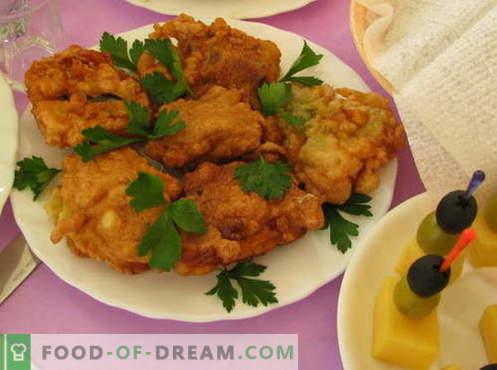 Vis in beslag - de beste recepten. Hoe goed en smakelijk vis in beslag koken.
