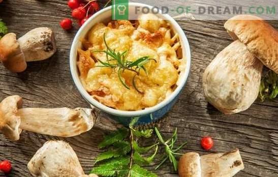 Julienne met champignons en kaas - Franse soep? Ongelooflijke avonturen van een julienne met champignons en kaas in Rusland