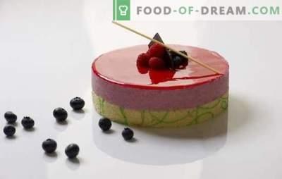 Spiegelglazuur - geweldige glans op uw dessert. Hoe een spiegelglazuur op de juiste manier voorbereiden en gebruiken?