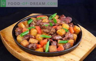 Verse kippenlever in een pan: het is snel! Dagelijkse en ongewone gerechten van kippenlever in een pan