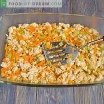Caserola de cartofi de pui, brânzeturi și de măsline