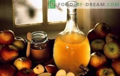 Appelazijn: thuis koken. Waarom is het beter om thuis appelciderazijn