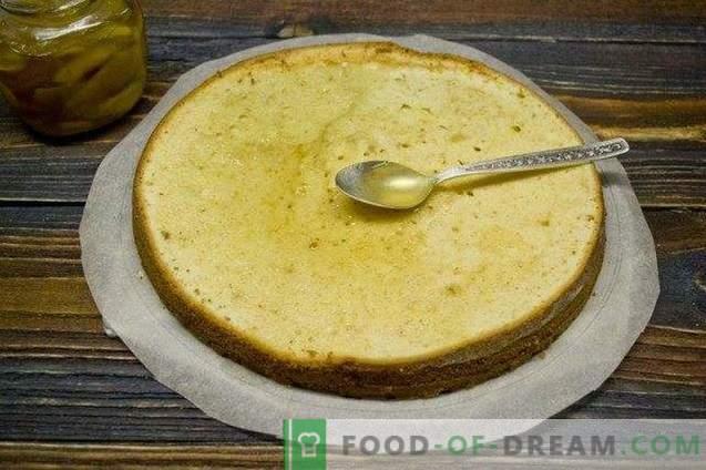 Italiaanse mimosa cake