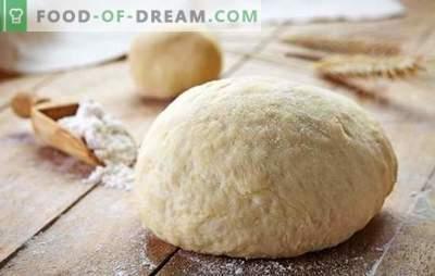 Добро тесто за курик - клуч за вкусна торта. Различни рецепти за квасец, лиснато тесто, кефир, кисела павлака, маргарин