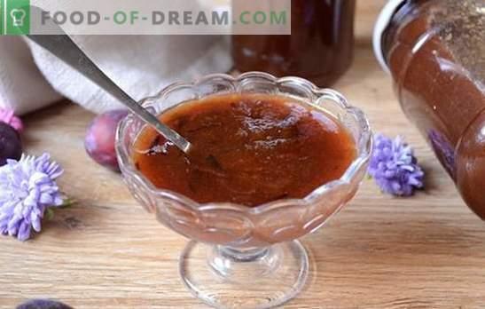 Pruimenjam - de gemakkelijkste en meest heerlijke! Stapsgewijs foto-recept voor het maken van jam uit Hongaars