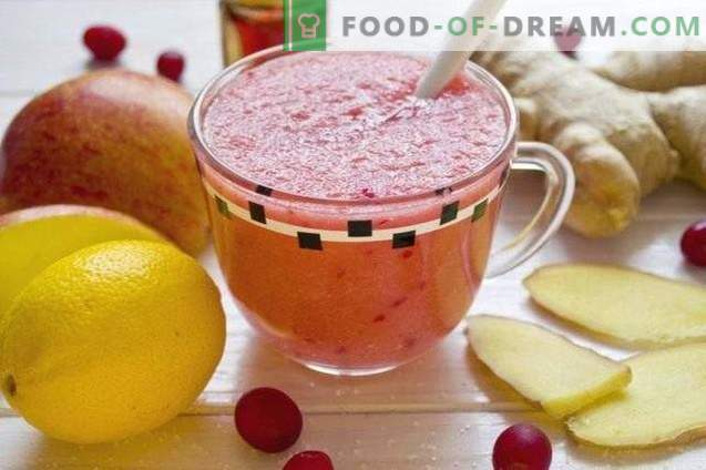 Fruit Cranberry Smoothie - Vitamine Cocktail
