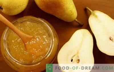 Нови и традиционални рецепти за желе. Вкусни желе круши со желатин за зима, без шеќер, оригинални десерти со необичен вкус