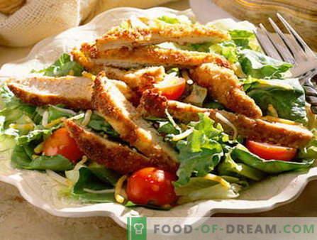 Mannensalade - de beste recepten. Hoe goed en lekker gekookt Men's Salad.
