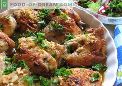 Georgische kip - de beste recepten. Hoe Georgische kip goed en lekker te koken