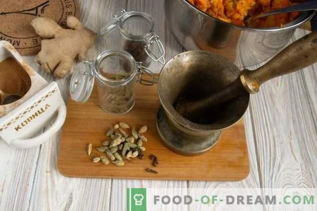 Zoete Indische pompoenschutney saus