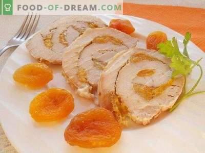Varkensvleesgehakt met gedroogde abrikozen