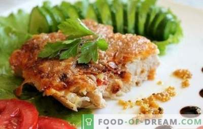 Kipkoteletten in de pan - hoe maak je ze sappig? Kipkoteletten in een pan in een pan, beslag en andere opties