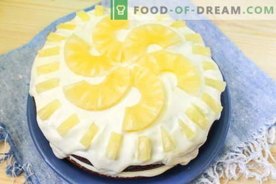 Taart in een slowcooker - een teder dessert: een recept met een foto. Stap voor stap beschrijving van het koken van cake in een slowcooker: chocoladebiscuit