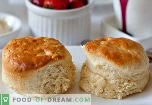 Zelfgemaakte broodjes - de beste recepten. Hoe maak je zelfgemaakte broodjes op de juiste manier op smaak