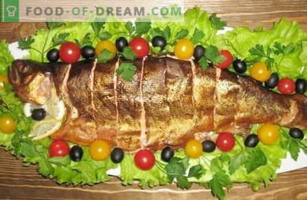 Gerookte vis - de beste recepten. Hoe goed en lekker gerookte vis koken.