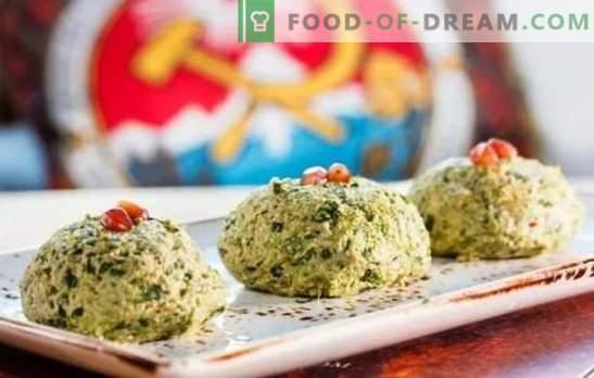 Georgische hapjes - de wereld van heerlijke smaken! Recepten van traditionele Georgische snacks uit spinazie, kool, aubergines