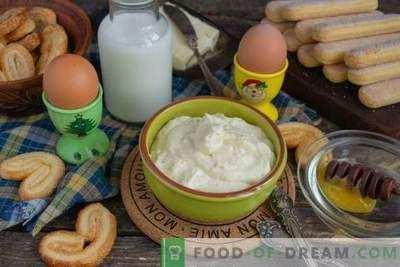Creamy honey custard for any cake