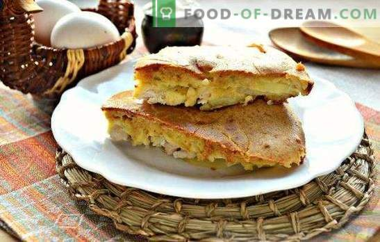 Kipvullertaart - sappig, geurig en mals gebak. De beste recepten van geleipaste taart met kip
