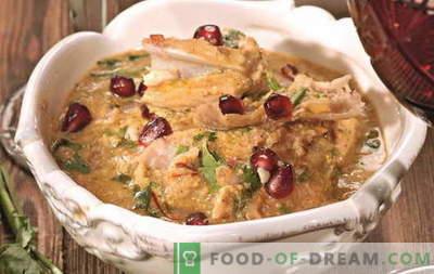 Chicken Satsivi - de beste recepten. Hoe te om behoorlijk en smakelijk satsivi van kip te koken.