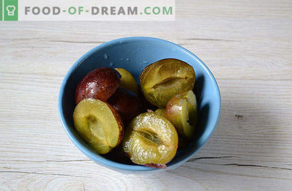 Spice Plums Compote