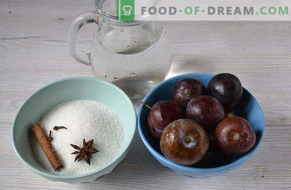 Spice pruimen Compote