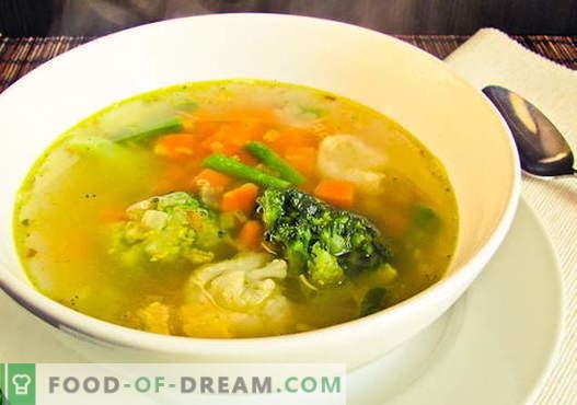 Bloemkoolsoep - de beste recepten. Hoe goed en smakelijk koken bloemkoolsoep.